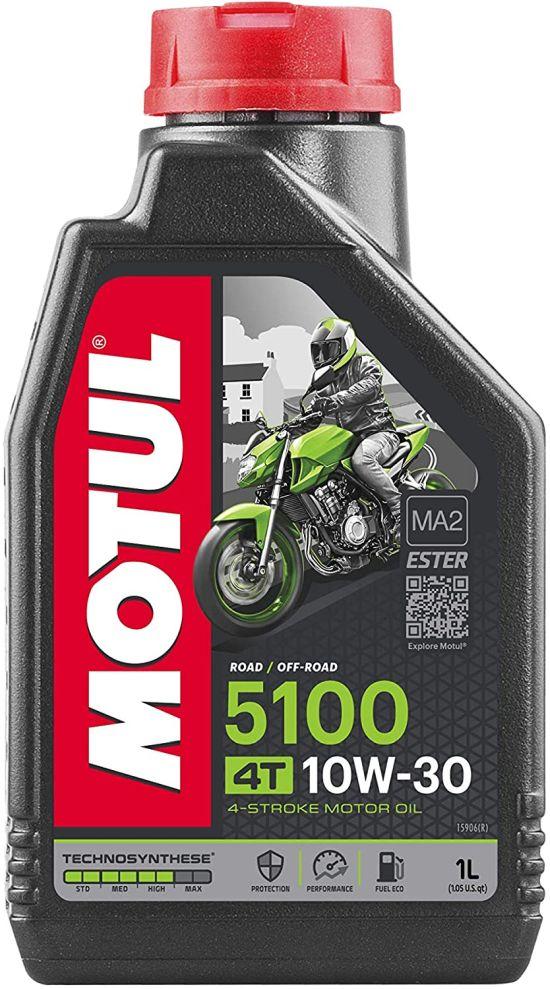 104062 Olio Motul 5100 ester 4 Tempi 10W30 Technosyntese- Ricambi e Accessori Moto