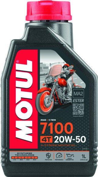 104103 Olio Motul 7100 4 Tempi 20W50 100% Synthese Ester- Ricambi e Accessori Moto