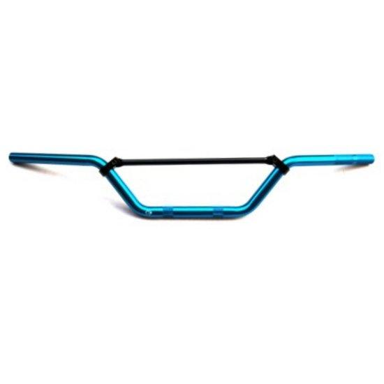 Manubrio piega alta Alluminio Anodizzato completo di traversino- Ricambi e Accessori Moto