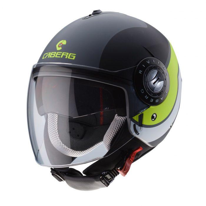 Casco Demi Jet Caberg Riviera V3 Sway - Abbigliamento e Accessori Moto