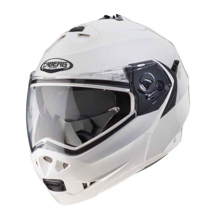 Casco Modulare Caberg Duke 2 White Metal - Abbigliamento e Accessori Moto