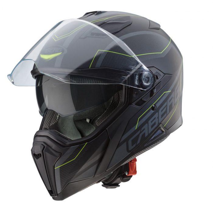 Casco Integrale Caberg Jackal Supra Matt Black Anthracite - Abbigliamento e Accessori Moto