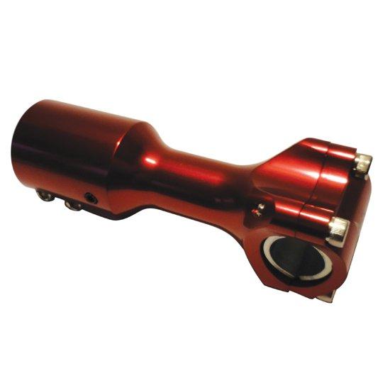 Supporto manubrio One Booster, Aerox, F12, Rosso Corto Ricambi e Accessori Scooter
