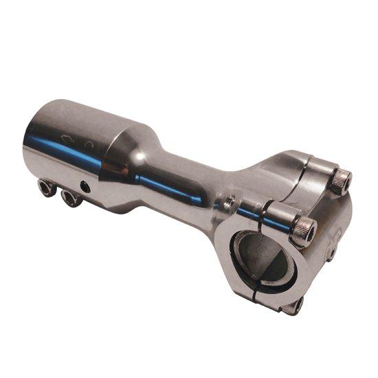Supporto manubrio One Booster, Aerox, F12, Alluminio Corto Ricambi e Accessori Scooter