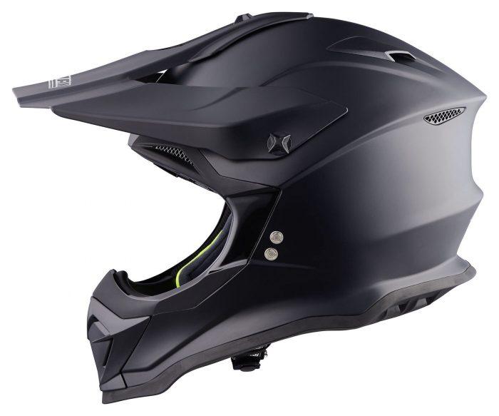 Casco Motocross Nolan N53 SMART Nero Opaco Moto Abbigliamento e Accessori Moto