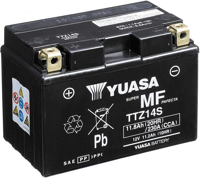 Batteria Yuasa TTZ14S Ricambi e Accessori Moto