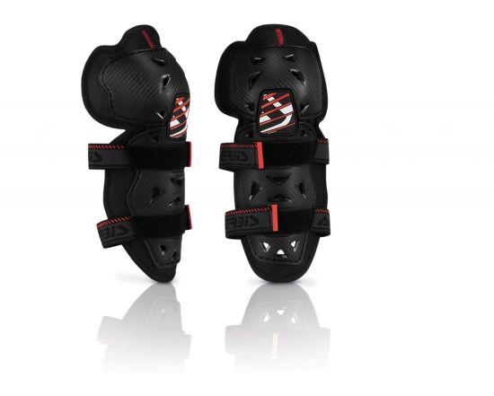 Ginocchiere Motocross con chiusura Velcro Junior Acerbis - Abbigliamento e Accessori