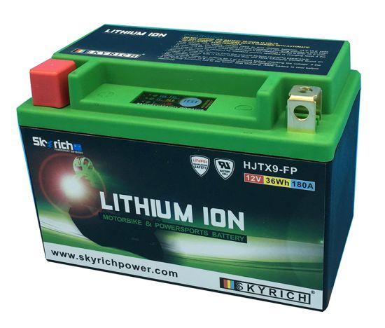 Batteria Moto SKYRICH Litio HJTX9-FP YTX9-BS - Ricambi e Accessori Moto