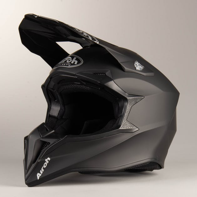 Casco Motocross Airoh Color Black Matt - Motocross Motard