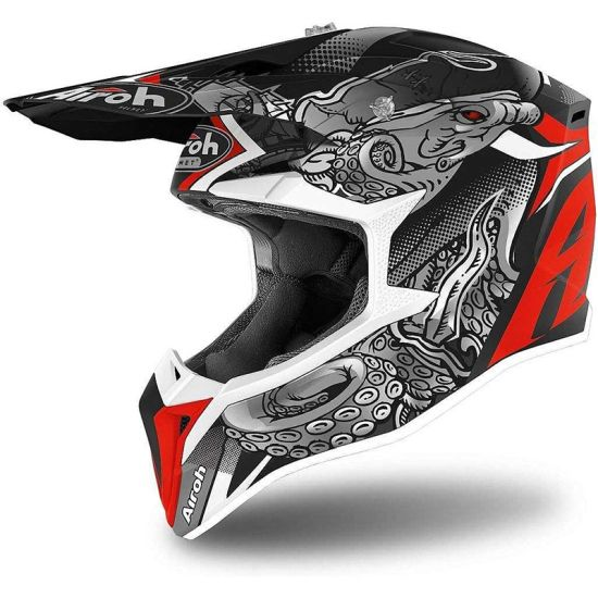 Casco Motocross Airoh Octopus Matt - Motocross Motard