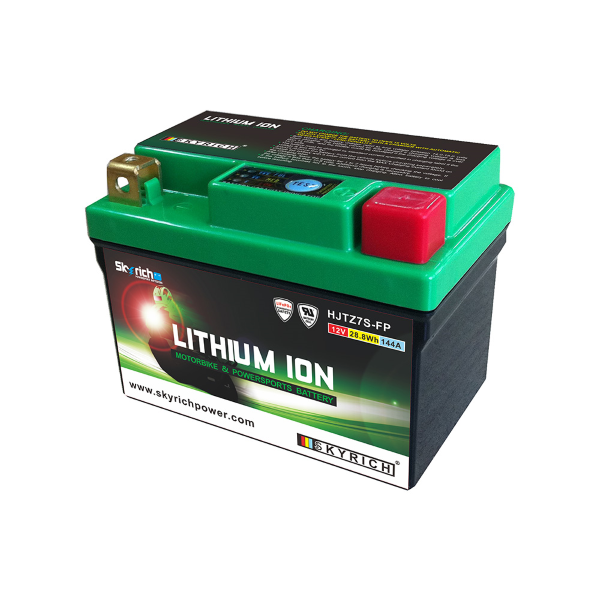 Batteria Moto SKYRICH Litio HJTZ7S-FP = YTZ7S YTX7L-BS - Ricambi e Accessori Moto