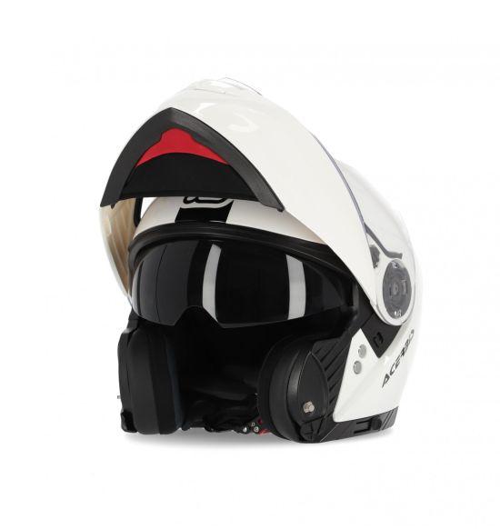 Casco Modulare Acerbis Rederwel Colore Bianco - Abbigliamento e Accessori