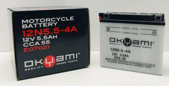 Batteria OKYAMI 12N5.5-4A 12V-5.5A - Ricambi e Accessori