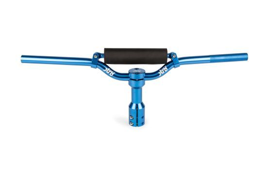 Manubrio Scooter con Supporto Corto STR8 Alluminio Blu - Ricambi e Accessori Scooter