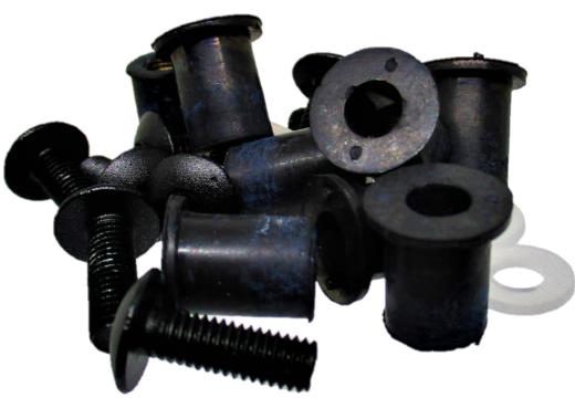 Inserti in Gomma e Viti per Cupolini Moto - Ricambi e Accessori Moto