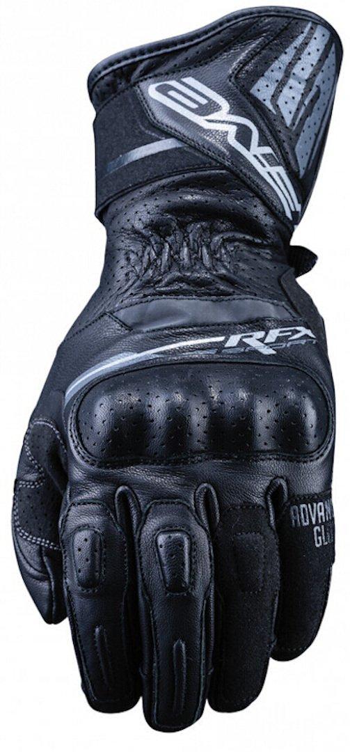 Guanto In Pelle Moto Five RFX Sport Black - Abbigliamento e Accessori