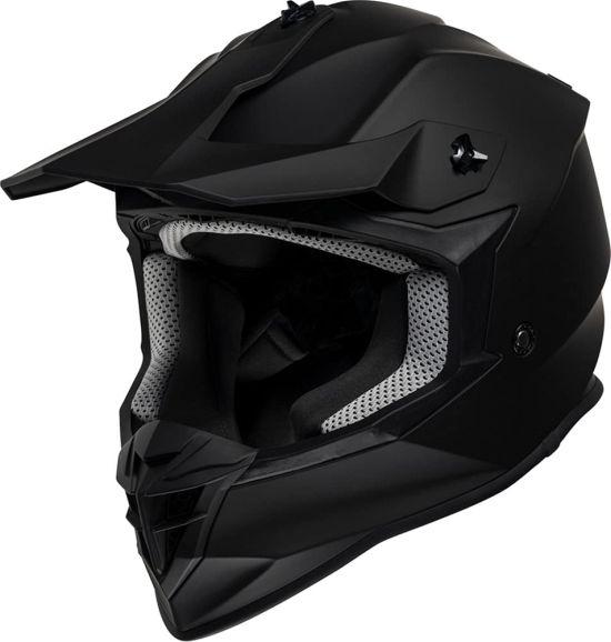 Casco Motocross IXS Modello 362 1.0 Nero Opaco - Abbigliamento e Accessori