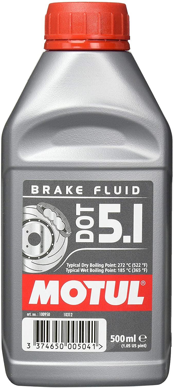 Olio Freni Motul Brake Fluid Dot 5.1 conf. 500 ml 100950 - Ricambi e Accessori Moto