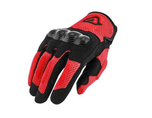 Guanti Acerbis Estivi RAMSEY MY VENTED Colore Rosso- Abbigliamento e Accessori Moto Motocross
