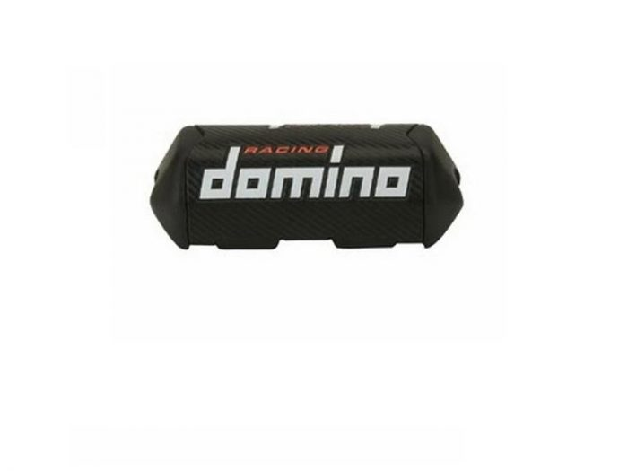 Paracolpi Manubrio Domino HSA Carbon look- Ricambi e Accessori Motocross Motard