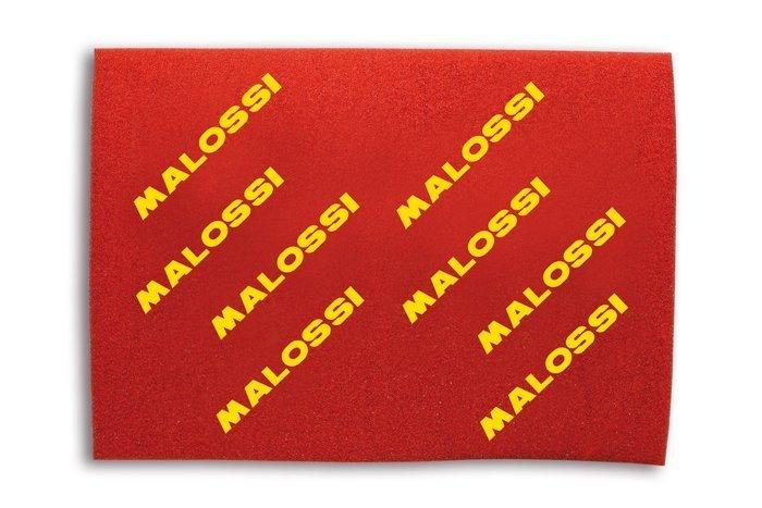 1413965 Spugna filtro Red Sponge Malossi 40x30 a doppio strato- Ricambi e Accessori Moto