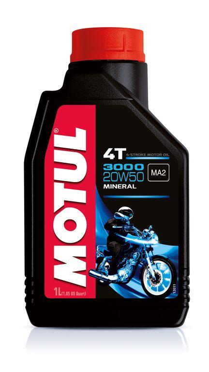107318 Olio Motul 3000 4 Tempi 20W50 Minerale- Ricambi e Accessori Moto