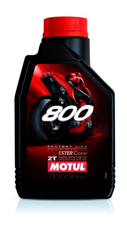 104041 Olio Motul 800 Road Racing Factory Line double ester- Ricambi e Accessori Moto