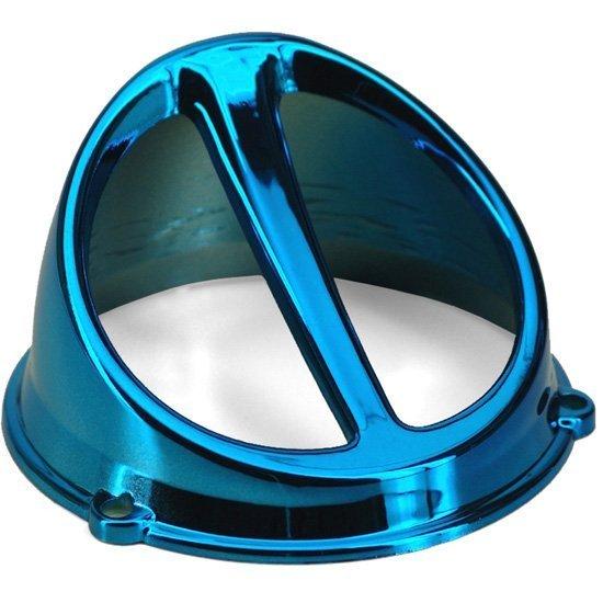 Convogliatore Minarelli Blu Cromato- Ricambi e Accessori Scooter