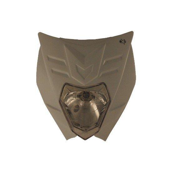 Maschera Faro ONE mod. Felix Colore Bianco Omologata- Ricambi e Accessori Motocross Motard