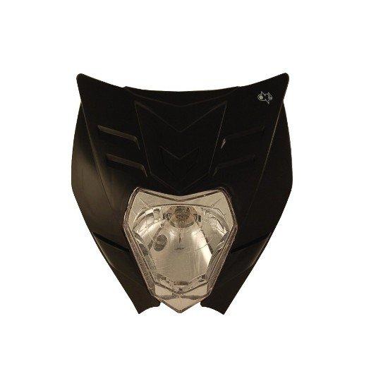 Maschera Faro ONE mod. Felix Colore Nero Omologata- Ricambi e Accessori Motocross Motard