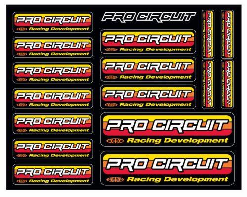 Serie Decal PRO CIRCUIT- Ricambi e Accessori Moto