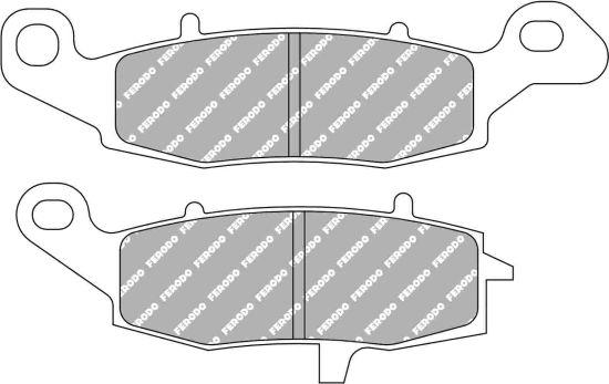 Pastiglie Ferodo Sinterizzate uso Stradale-Pista FDB2048ST- Ricambi e Accessori Moto