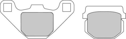 Pastiglie Ferodo Eco Friction ECO COMPATIBILE FD313EF- Ricambi e Accessori Moto