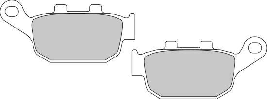 Pastiglie Ferodo Eco Friction ECO COMPATIBILE FD531EF- Ricambi e Accessori Moto
