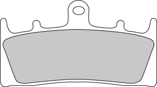 Pastiglie Ferodo Sinterizzate uso Stradale-Pista FDB873ST- Ricambi e Accessori Moto