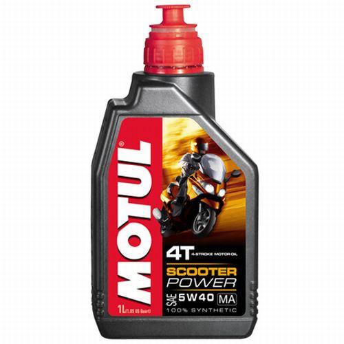 105958 Olio Motul Scooter Power 4 Tempi 5W40 100% Synthetic MA- Ricambi e Accessori Moto