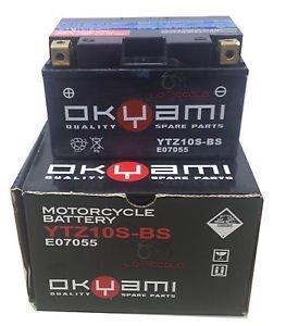 Batteria OKYAMI YTZ10S-BS 12v 8.5 Ah- Ricambi e Accessori Moto