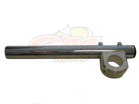 Semimanubrio con collarino Alluminio D.28 Minimoto GRC- Ricambi e Accessori Minimoto
