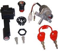 Kit serrature Originali Malaguti per F12 (NO F12R) dal 94 ----->- Ricambi e Accessori Scooter