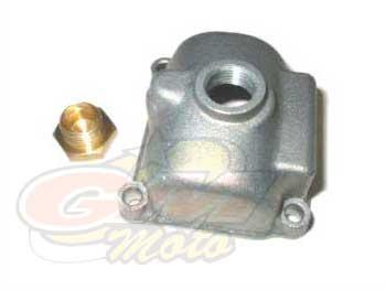 Vaschetta per Carburatore PHBG  metallo con ispezione getto- Ricambi e Accessori Minimoto