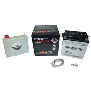Batteria OKYAMI OB10L-A2 CON ACIDO- Ricambi e Accessori Moto