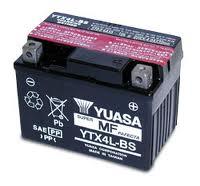 Batteria Yuasa YTX4L-BS 12v 3ah- Ricambi e Accessori Moto