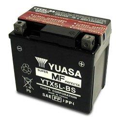 Batteria Yuasa YTX5L-BS 12v 4ah- Ricambi e Accessori Moto