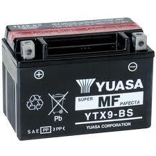 Batteria Yuasa YTX9-BS 12v 8ah- Ricambi e Accessori Moto