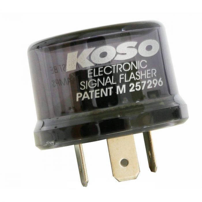 Intermittenza Standard Elettronica Koso 12V 15A 3Pin- Ricambi e Accessori Moto
