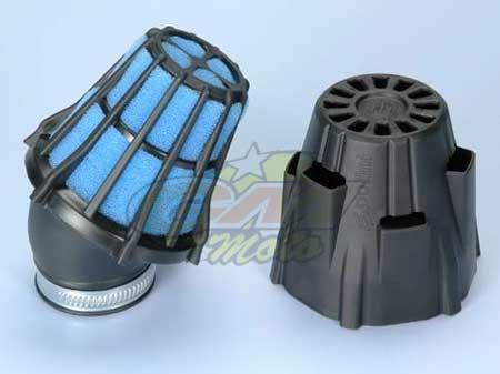 203.0090 Filtro Aria Polini inclinato 30 Gradi Carburatore PHBG, Minimoto- Ricambi e Accessori Minimoto