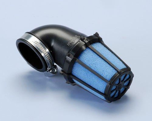 203.0095 Filtro Aria Polini inclinato 90 gradi piccolo D.32 PHBG Minimoto- Ricambi e Accessori Minimoto