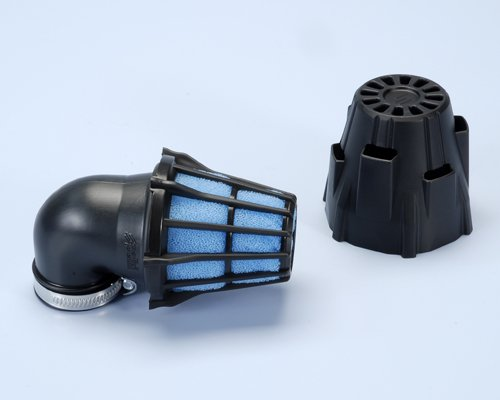 203.0093 Filtro Aria Polini inclinato 90 D.32 Carburatore PHBG, Minimoto- Ricambi e Accessori Minimoto