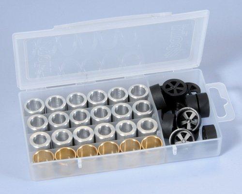 242.420 Kit 4 serie Rulli Polini 19x15.5 peso 2.7 - 3.0 - 3.5 - 4.0- Ricambi e Accessori Moto