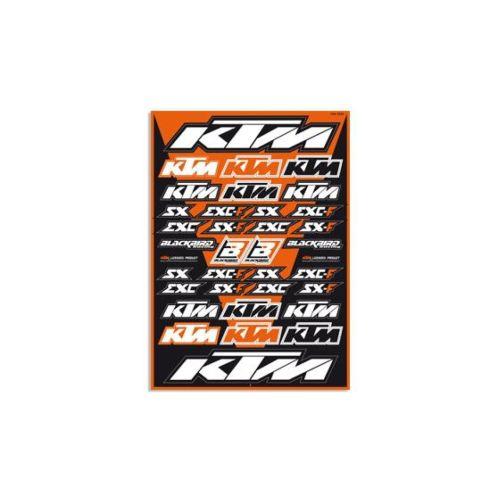 Serie Decal Vinil tipo KTM- Ricambi e Accessori Moto